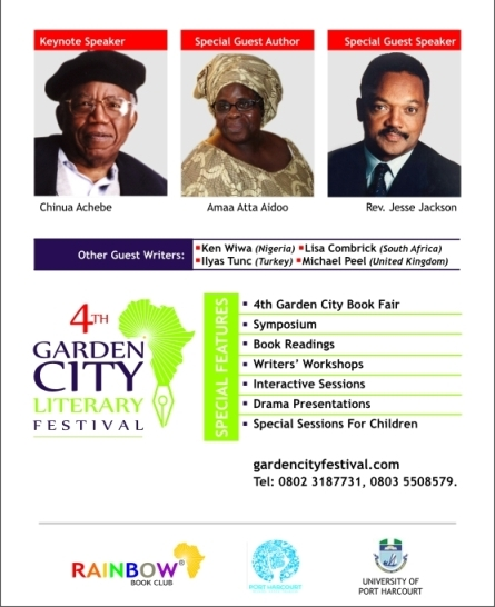 Special Guests to the Garden City Literary Festival