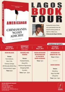 AMERICANAH_Tour Schedule