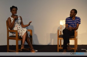 Chimamanda in conversation with Tolu Ogunlesi