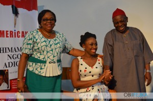 Chimamanda and her parents
