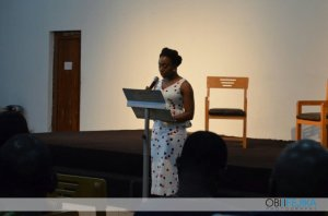 Chimamanda reading from Americanah