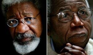 Wole Soyinka & Chinua Achebe