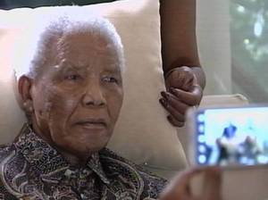 Nelson Mandela in the Hospital. AFP\Getty