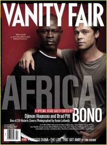 Djimon Hounsou & Brad Pitt