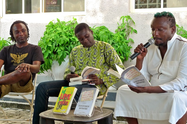 Binyavanga reading