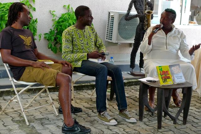 Amatesiro led Igoni and Binyavanga in conversation after they read