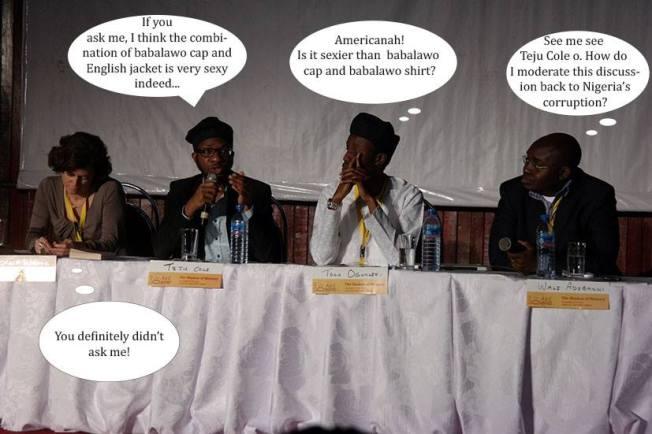 Teju Cole & Tolu Ogunlesi