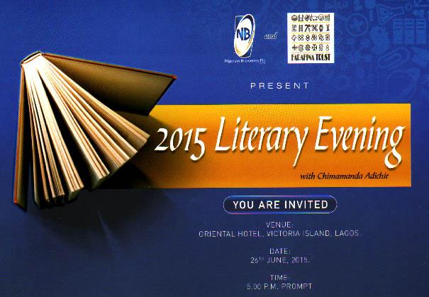 Farafina Literary Evening 2015