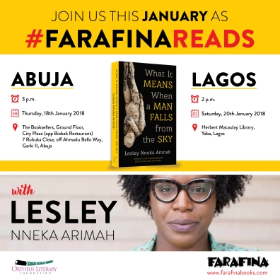 Farafina Reads_Lesley Nneka Arimah_Lagos and Abuja